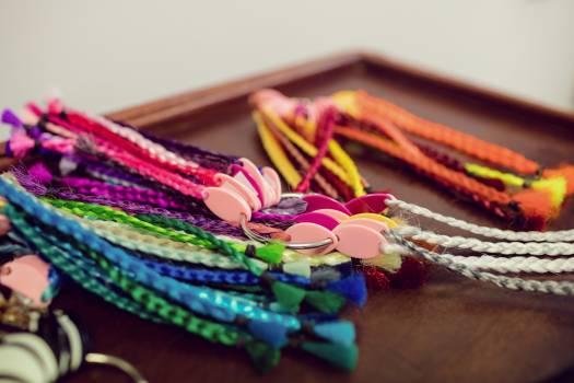 Assorted colourful artificial dreadlocks #413695
