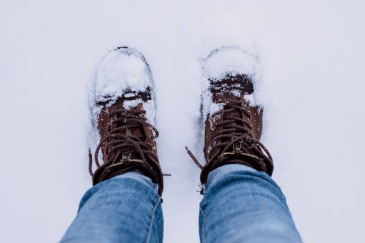 Snow Boots Jeans Man Free Photo #413759