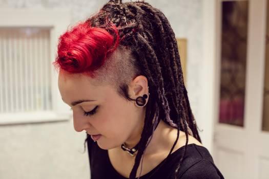 Woman with dreadlocks #413800