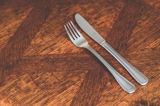 Silver Kinve & Fork #41385