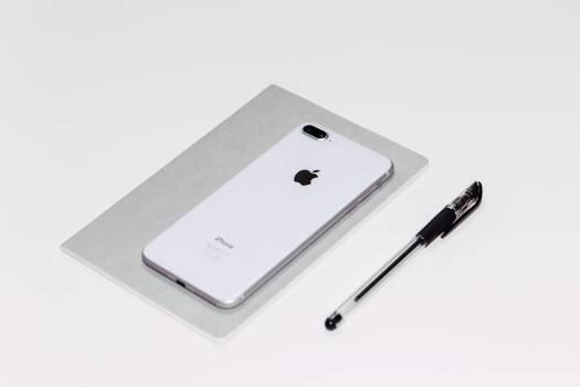 iPhone White Pen Minimal Free Photo #414049