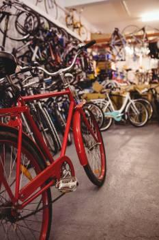 Bicycles in workshop #414342