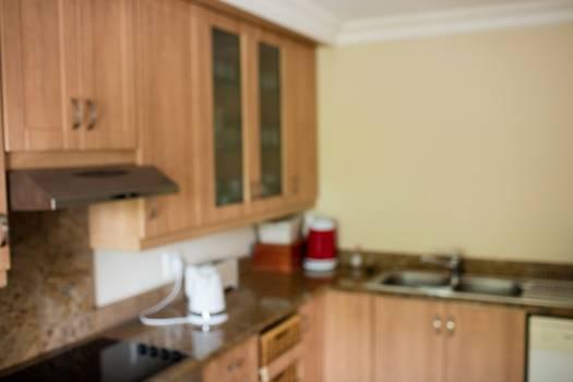 Interior of modern kitchen #414985