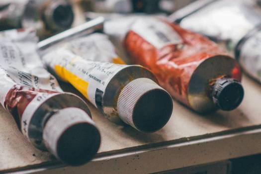 Art Color Paint Tubes Free Photo #414991