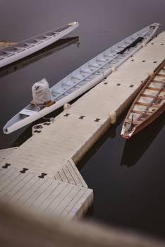 Moored boat at harbor #415117