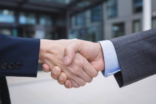 Businesspeople shaking hands #415359