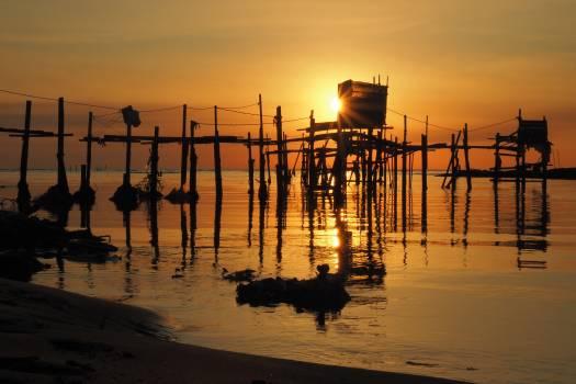 Sun Pier Sunset #415925