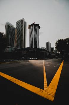 City Business district Intersection #416153