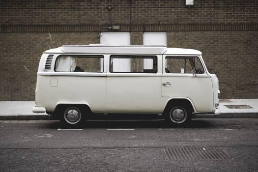 White Van on the Road #41619