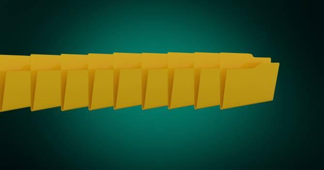 Digitally generated image of folder icons #416246