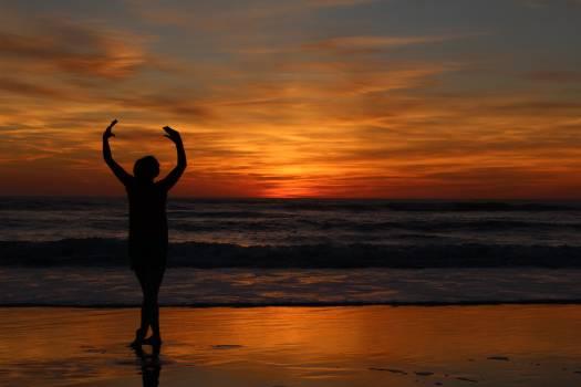Sun Sunset Silhouette #416334