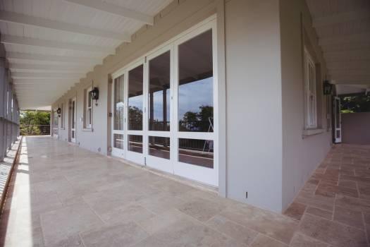 Exterior of a house with empty veranda #416711