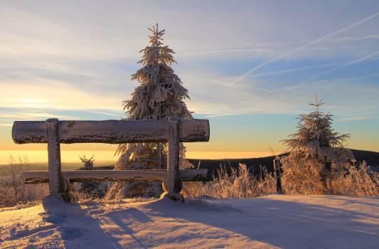 Snow Landscape Sky Free Photo