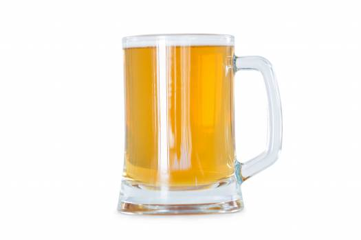 Beer mug on white background #416963