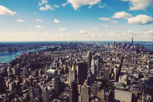 Manhattan City Skyline #417316
