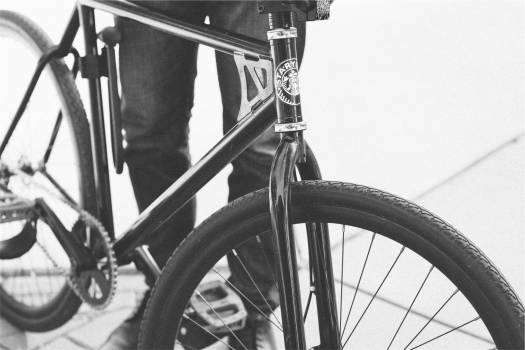 Bike bicycle black and white  #417484