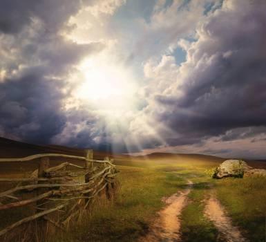 Sky Barn Landscape #417721