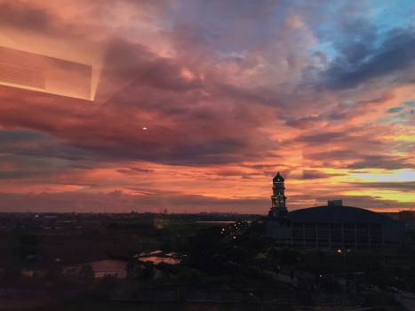 Sky Sun Sunset #417839
