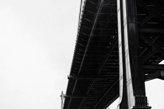 Bridge crossing a river closeup #417925