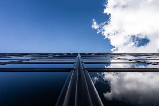 Windows sky reflection clouds #41823