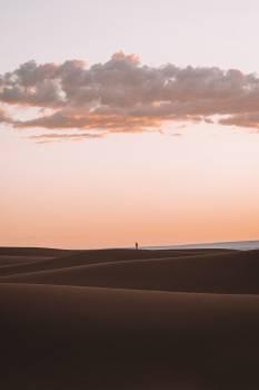 Dune Sky Sunset Free Photo
