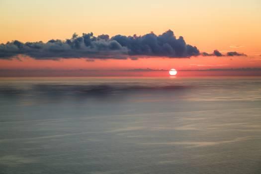 Beach Sunset Sea Free Photo