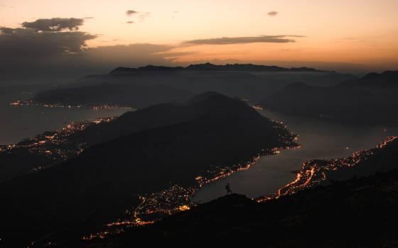 Volcano Mountain Sun Free Photo