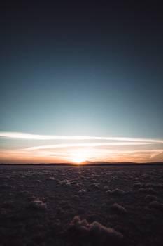 Sun Sunset Shoreline Free Photo
