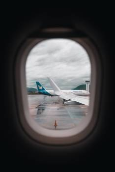 Wing Window Airfoil Free Photo