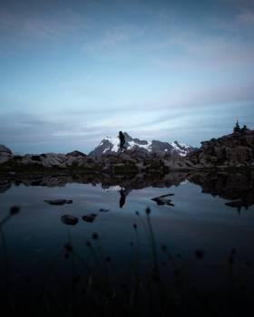 Mountain Glacier Snow Free Photo