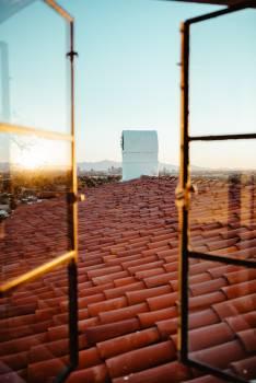 Brick Wall Roof Free Photo