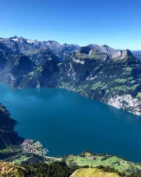 Mountain Lake Alp Free Photo
