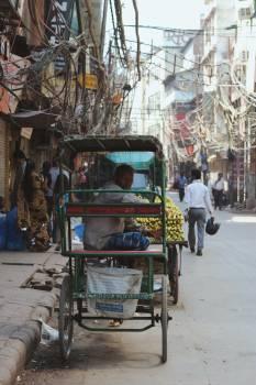 Jinrikisha Cart Wagon #418732