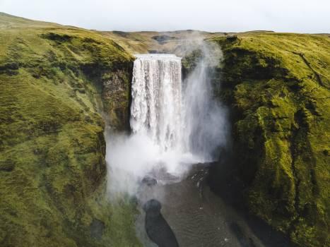 Waterfall River Spring Free Photo