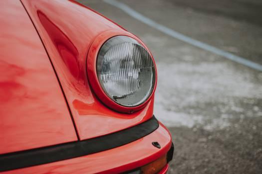 Headlight Car Grille Free Photo