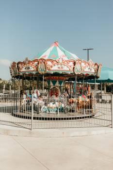 Carousel Ride Mechanical device Free Photo