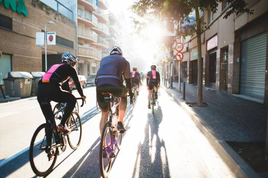 Cycling City Street Free Photo #418887