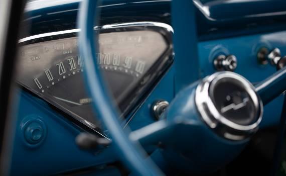 Vintage Car Interior Free Photo #418888