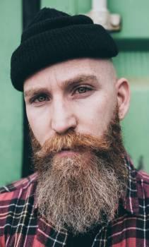 Beard Mustache Face #418939
