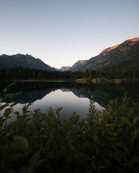 Mountain Landscape Lake Free Photo