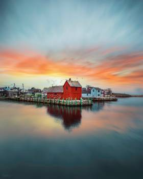 Boathouse Shed Sky #419148