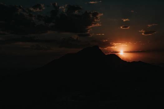 Sun Mountain Volcano Free Photo