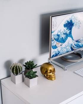 Computer Monitor Business Free Photo