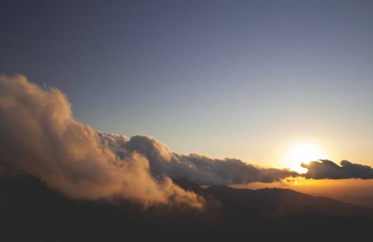 Sky Mountain Sun Free Photo
