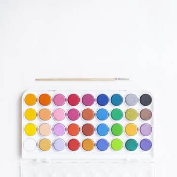 Paint Box On White #419457