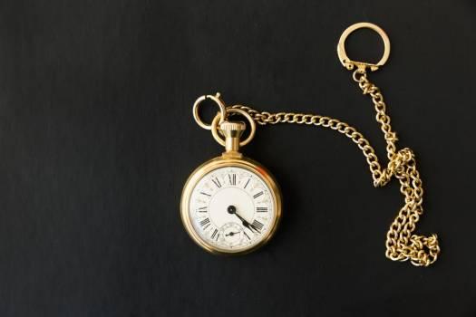 Pocket Watch On Black #419466