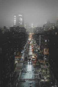 Dark And Foggy City #419483