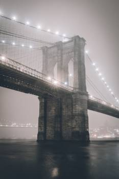 Spooky Brooklyn Bridge #419486
