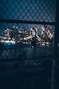 City Through A Fence #419490