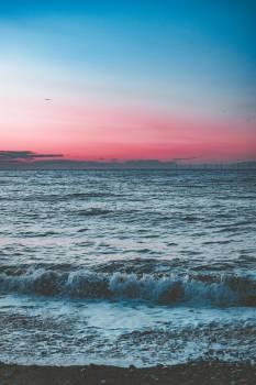 Scenic Photo Of Beach During Dawn Free Photo